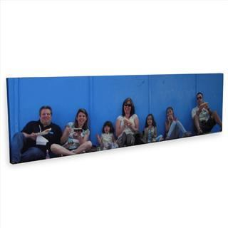 family panoramic canvas prints