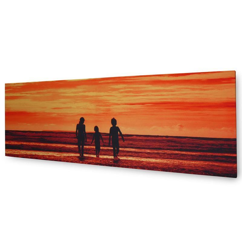 panorama on canvas of beach